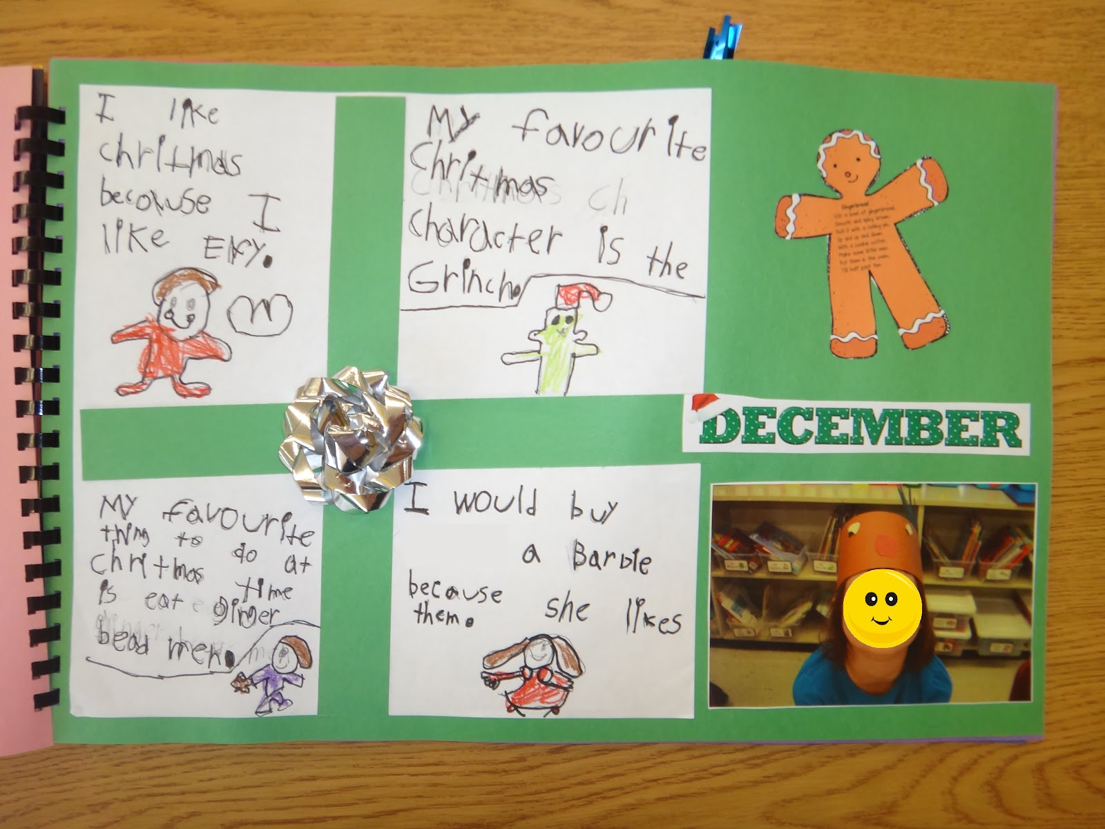 First Grade Garden End Of The Year Memory Book