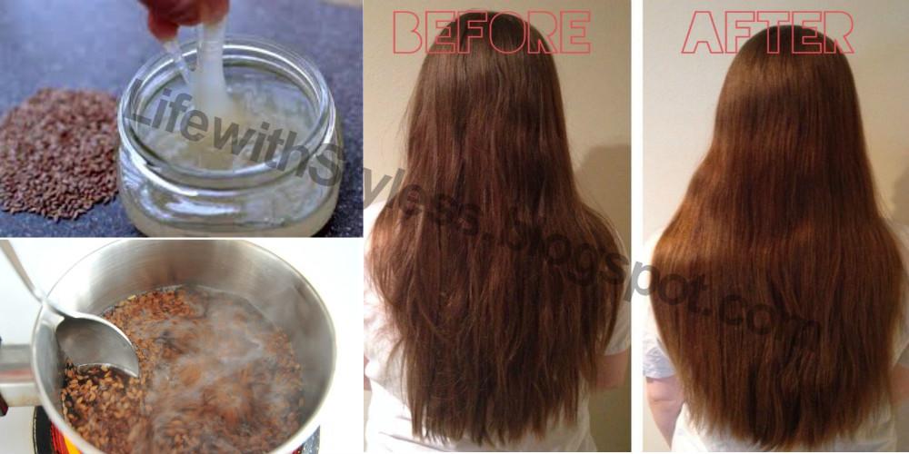 How To Make Flax Seed Hair Gel