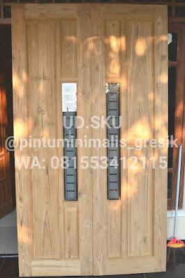 pintu minimalis, kusen jati surabaya mojokerto sidoarjo