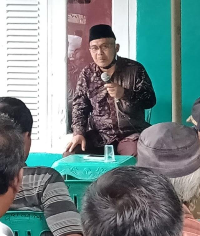 Haer S.Pd Anggota DPRD Kab Pangandaran Lakukan Reses di Dusun Kemplung Desa Karangbenda
