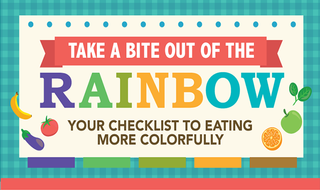 Your Checklist to Eating More Colorfully #infographics