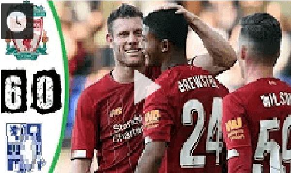ملخص مباراة ليفربول وترانمير روفرز 6 ـ0 وتألق الريديز