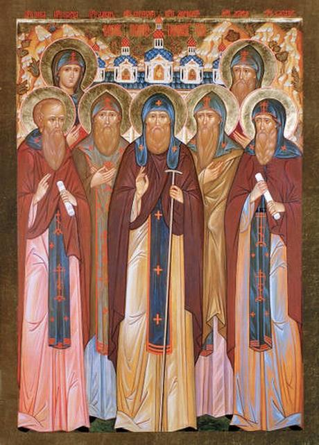 "Результат пошуку зображень за запитом ""Преподобних отців наших в обителі святого Сави убієнних"""