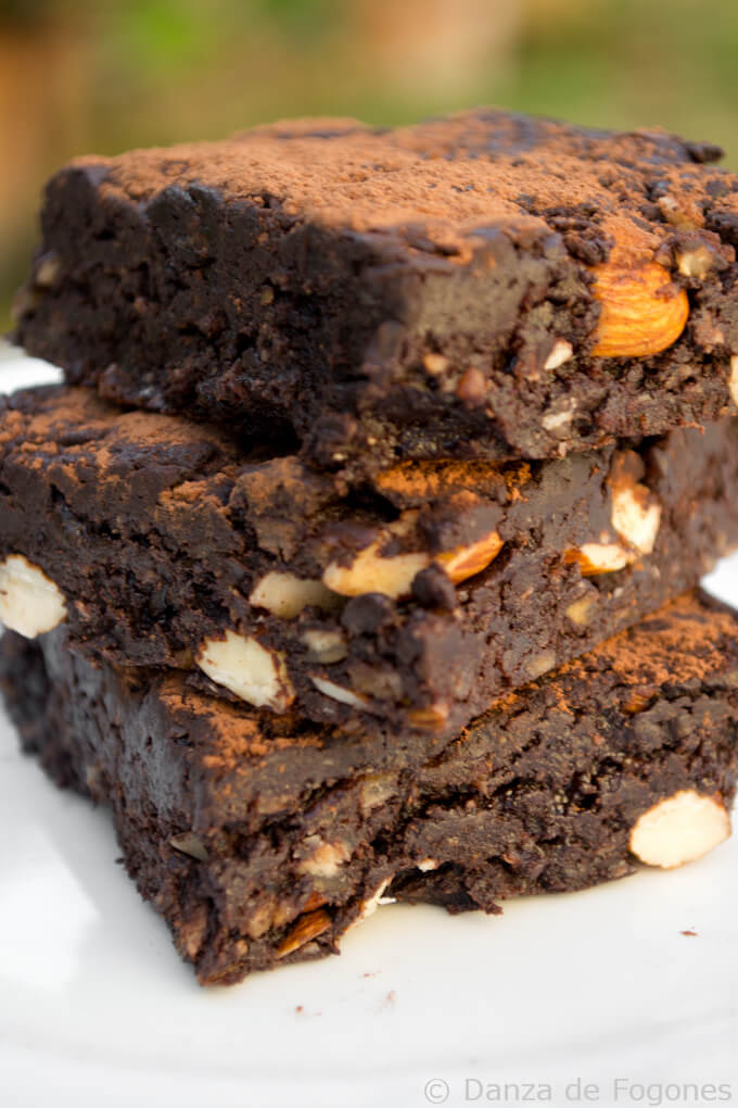 raw vegan brownie