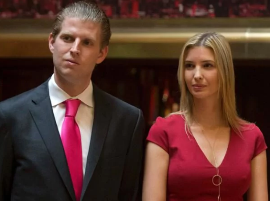 Ivanka Trump influenced my father to launch the Syria military strike - Eric Trump reveals