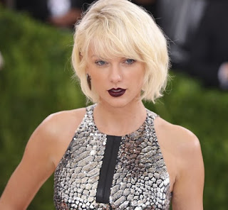Gaya Rambut Tailor Swift 2016