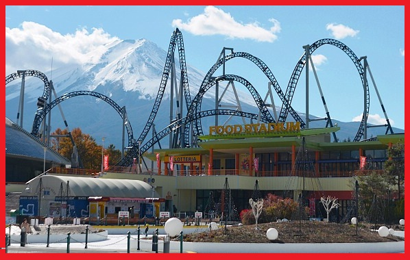 fuji q highland, japan tour