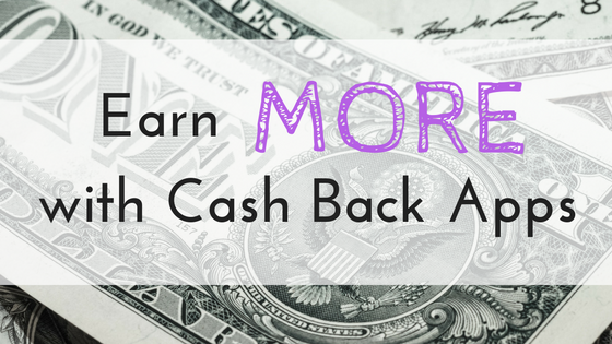 Cash Back grocery shopping apps