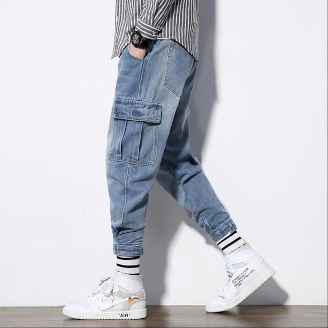 quần jean túi hộp
