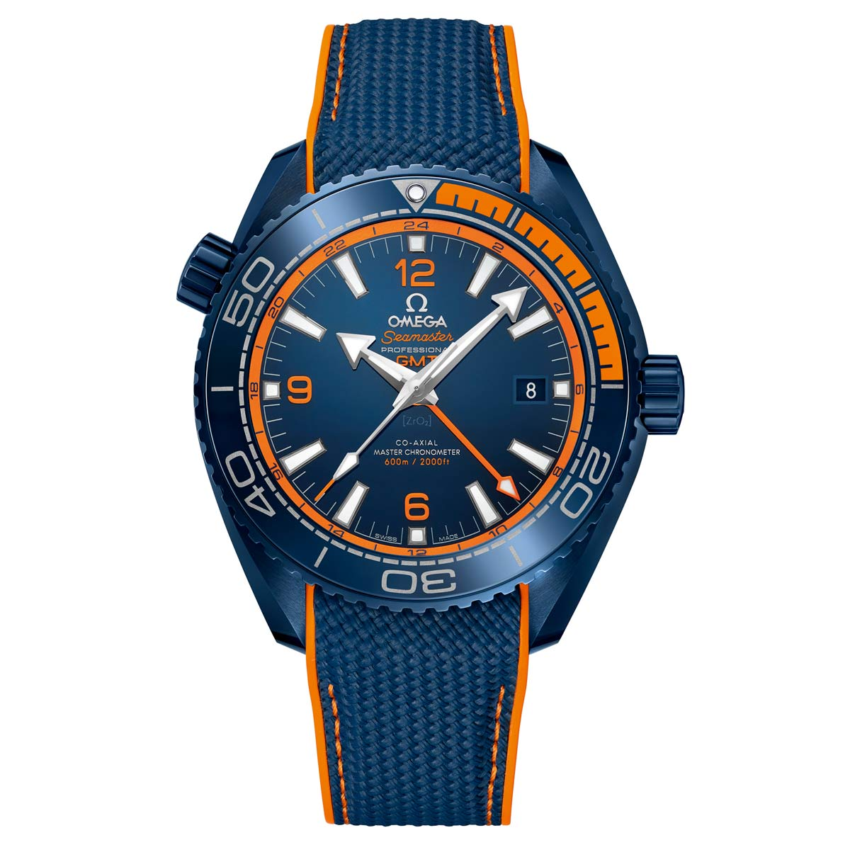 Omega Seamaster Planet Ocean Big Blue Time And