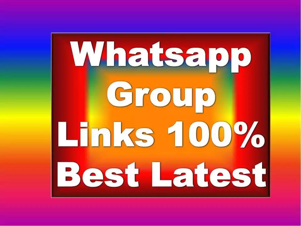 Whatsapp Group Links 2021 Real Join Whatsapp Groups Whatsapp Group Invite Link