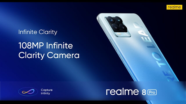 realme 8 Pro with 108MP Ultra Quad Camera, a 50W SuperDart Charge and a host of other features all for PKR 47,999/-