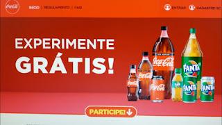 Promoção Experimente Grátis Coca-Cola e Fanta 2019