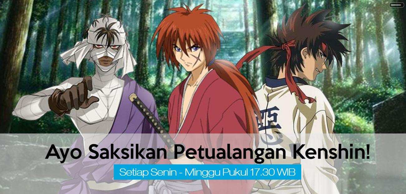 Nostalgia Dengan Anime 1990 An Samurai X Di Global TV
