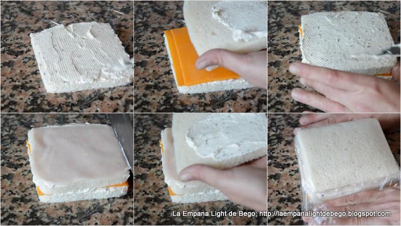 La empana light de bego canap s frios y variados con pan - Como hacer un canape ...