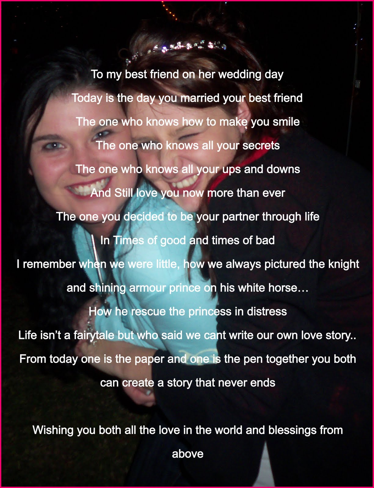 wedding day poems from