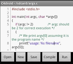 Download C4droid (C/C++ compiler) 3 33 Apk (V3 33) Full