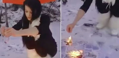 Membakar, Merobek dan Kencingi Al Quran, Wanita Ini Menanti Azab Allah