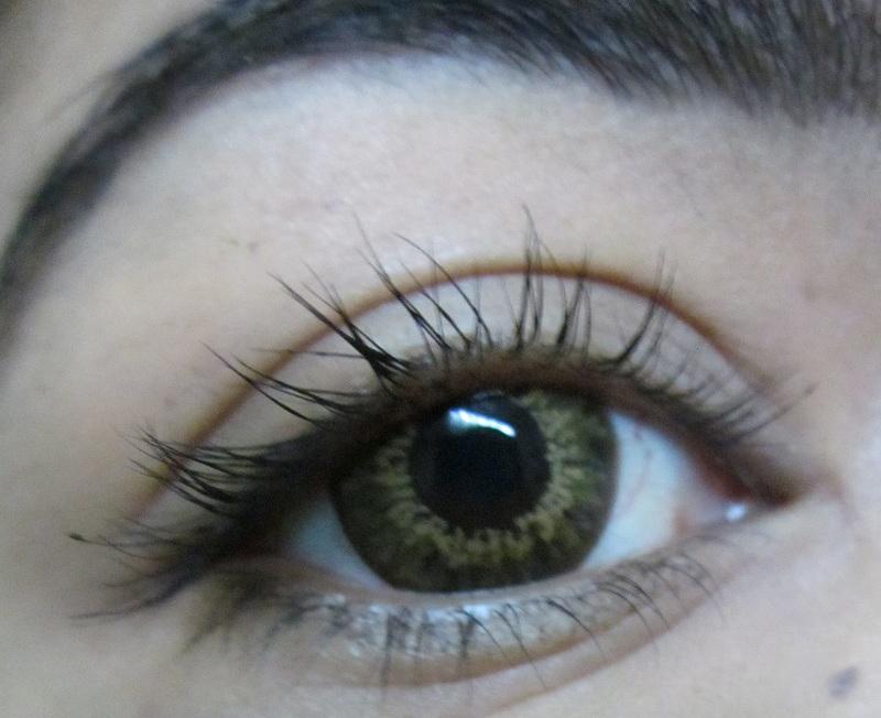 50d8bb56d2d Barbie Sasha 3 tone circle contact lenses in brown review - Indian ...