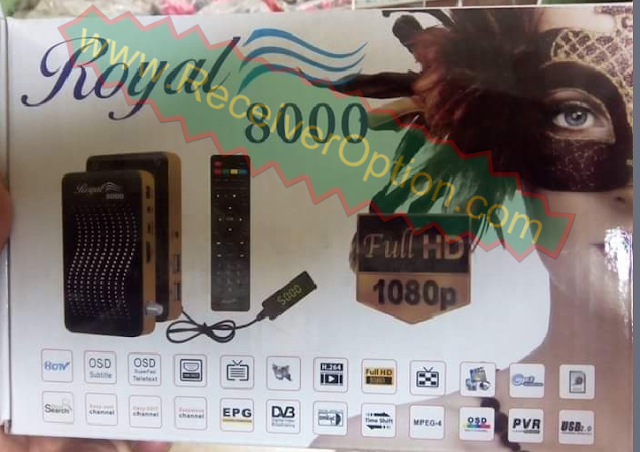 ROYAL GOLDEN 8000 HD RECEIVER AUTO ROLL POWERVU KEY NEW SOFTWARE