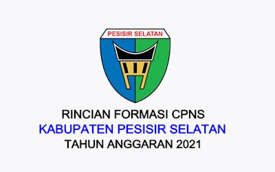 Formasi CPNS Kabupaten Pesisir Selatan Tahun 2021