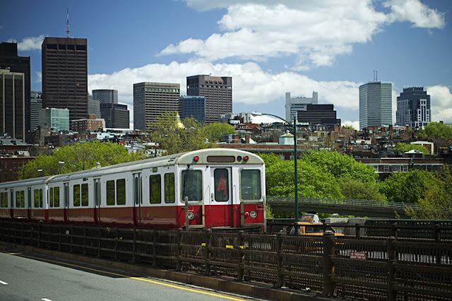Metrô em Boston
