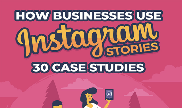 How Businesses Use Instagram Stories – 30 Case Studies #infographic