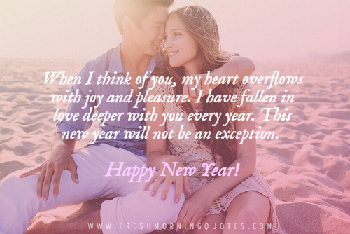 Happy New Year Quotes for Crush