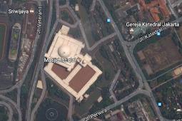 Kunjungan Wisatawan Non-Muslim ke Masjid Istiqlal