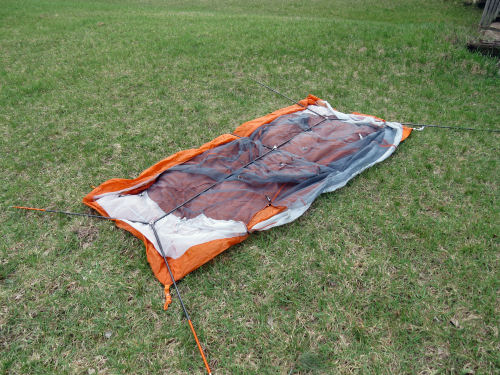 Copper Spur tent