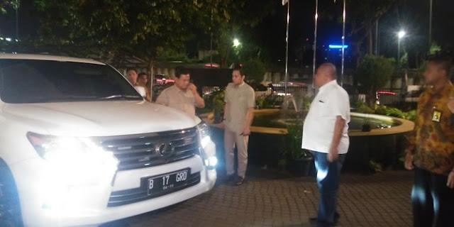 Prabowo bahas Pilgub Jabar, Jateng & Jatim saat Bertemu petinggi PAN di kantor PKS