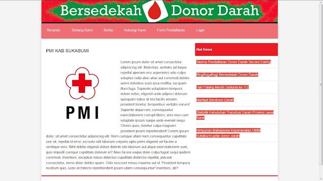Aplikasi Pendaftaran Donor Darah