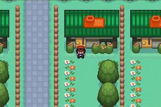 Pokemon Fire XY para GBA Pueblo Boceto - Pueblo Inicio