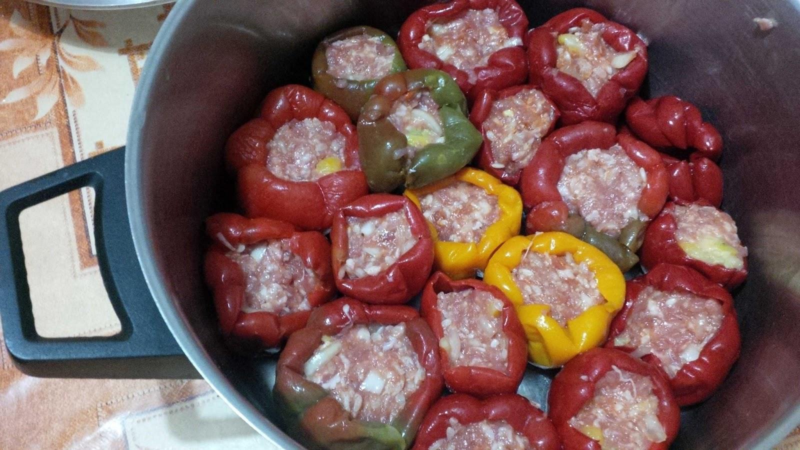 Stuffed peppers - Пълнени пиперки