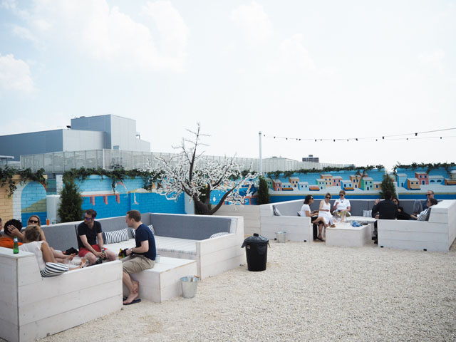 Pergola on the Roof, White City