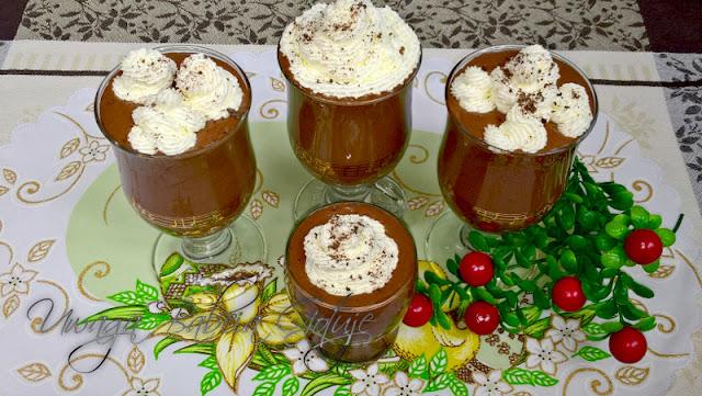 deser czekoladowy bez jajek mus czekoladowy