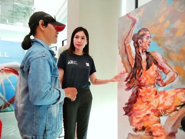 pameran lukisan ibis surabaya city center