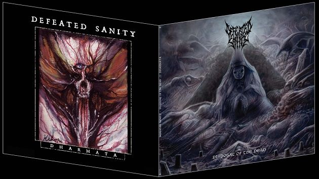 Detail from Defeated Sanity New Album, Disposal of the Dead / Dharmata, Detail from Defeated Sanity New Album Disposal of the Dead / Dharmata