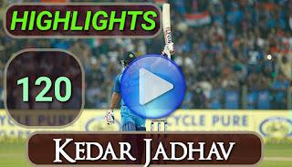 Kedar Jadhav 120