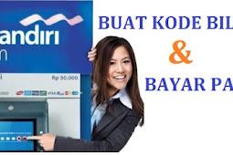 Bayar Pajak Praktis Lewat ATM Mandiri