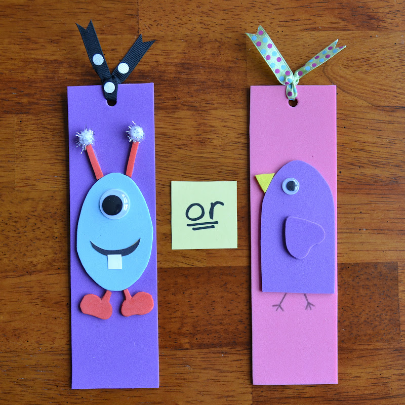 Bookmarks designs for kids images for Bookmark craft for kids