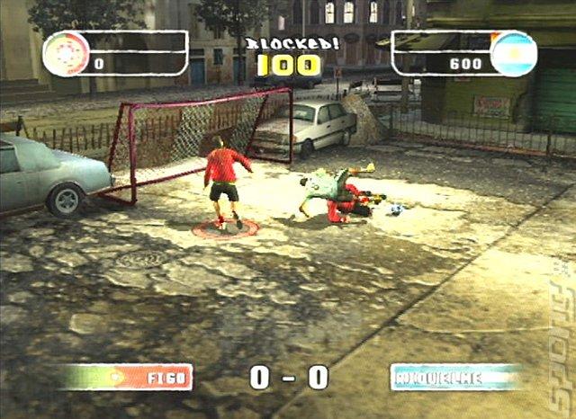 FIFA Street 2 Screenshot
