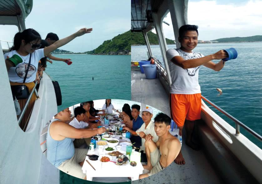 tàu câu cá tại đảo phú quốc