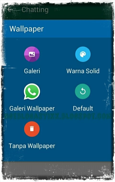 Cara Mengganti Wallpaper Chat Aplikasi WhatsApp via Android