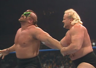 NWA Chi-Town Rumble 1989 - Kevin Sullivan hurts Road Warrior Animal