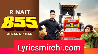 855 ८५५ Song Lyrics | R Nait | Latest Punjabi Song 2020