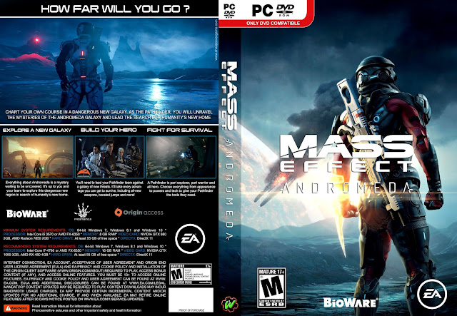 Capa Mass Effect Andromeda PC