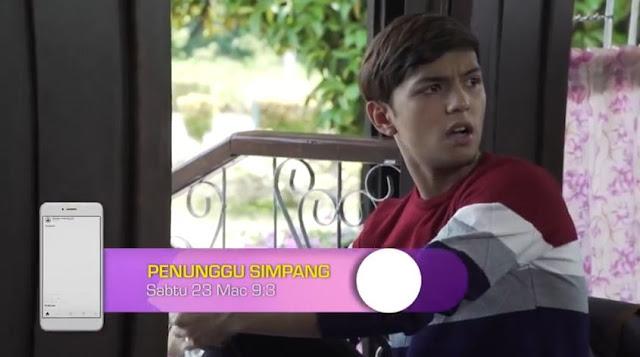 Cerekarama Penunggu Simpang lakonan Aiman Tino