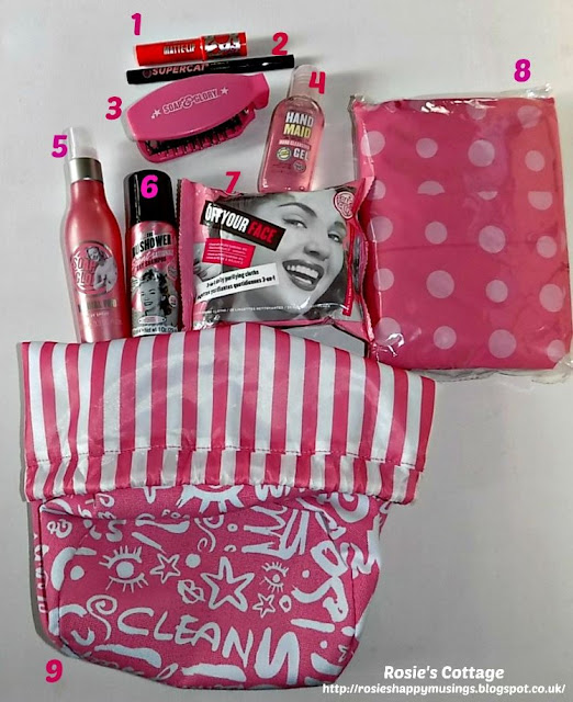 Happy Glamper Kit from Soap and Glory details...