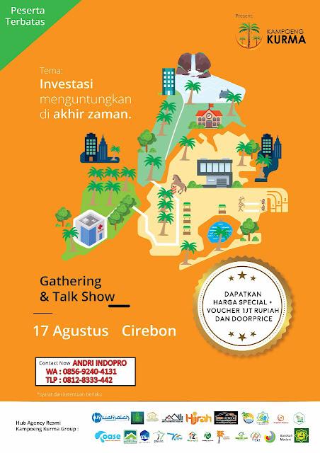 Gathering-Kampung-Kurma-Cirebon-Investasi-Tanah-Kavling-Islami-Kebun-Kurma